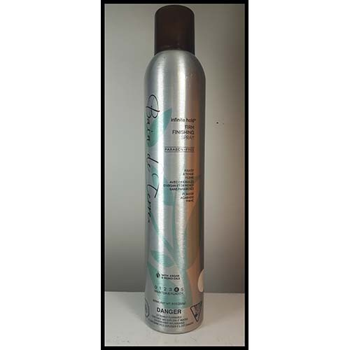 Bain de terre fixatif tenue ferme infinite hold 300 ml