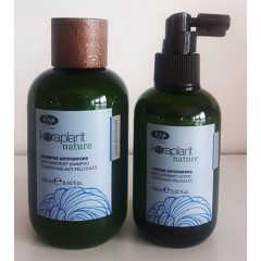 Lisap keraplant nature duo anti-pellicules ( shampooing 250ml et lotion 150ml)