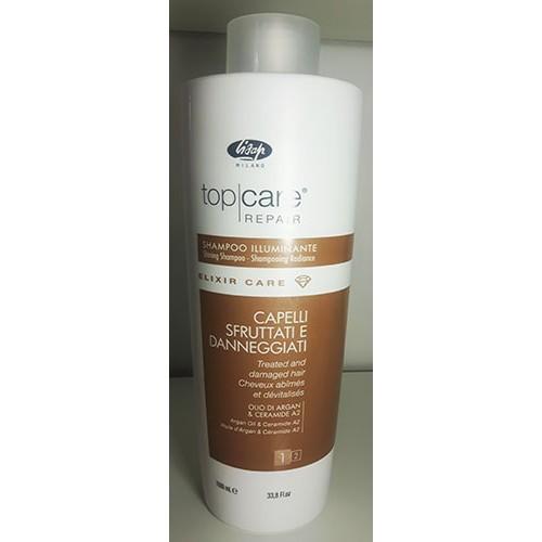 Lisap shampooing top care repair radiance illuminant elixir care 1 litre